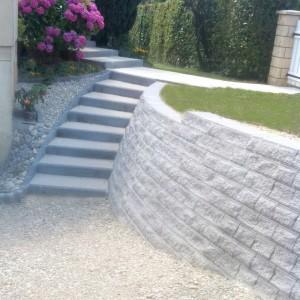Aménagement extérieur d'escalier traditionnel