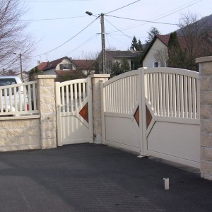 Maçonnerie pour portail