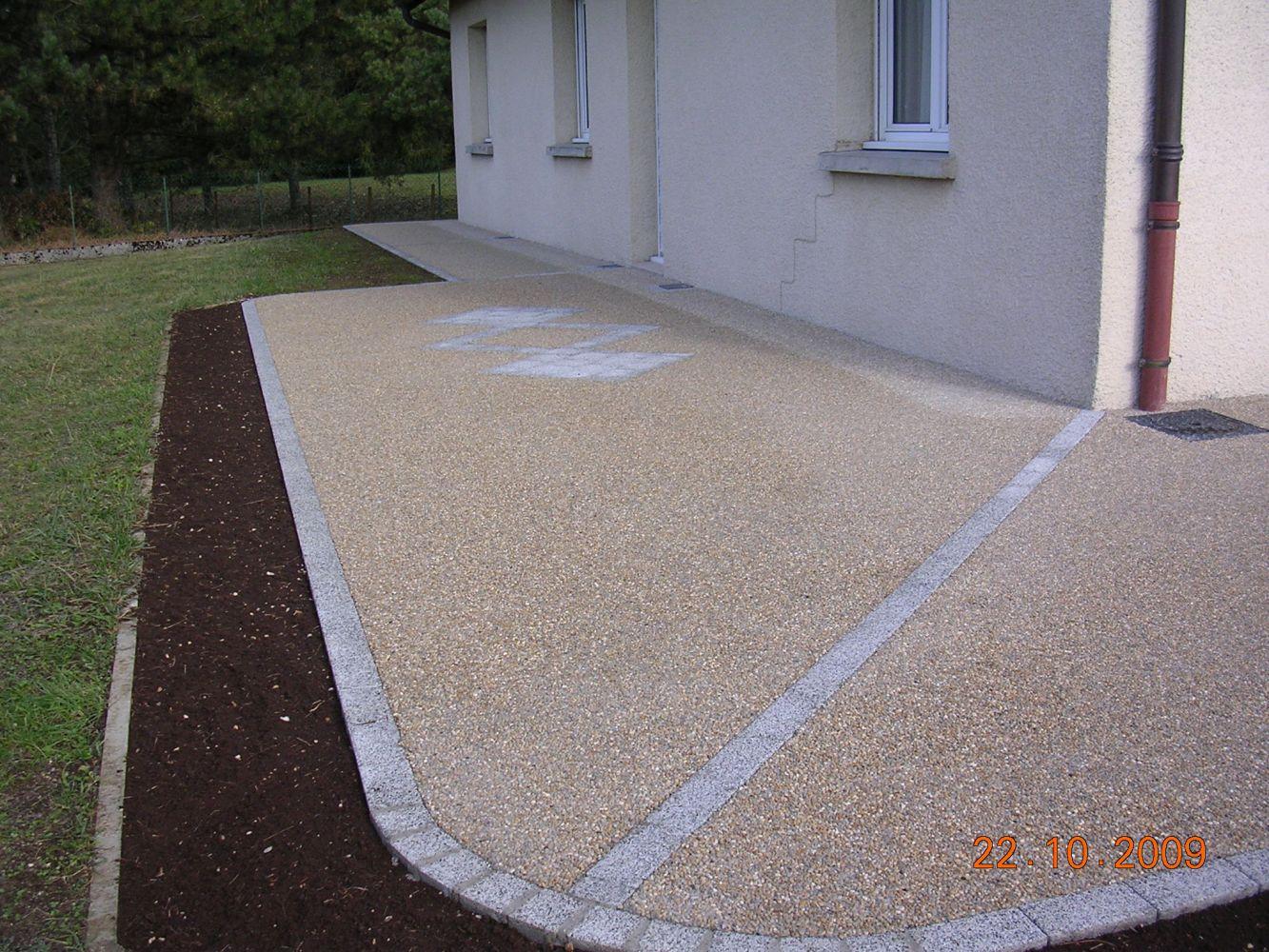 Très bien Extreme Aménagement de terrasse en béton désactivé | CUINET CS19